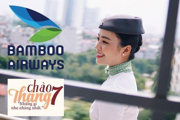 Vé máy bay khuyến mãi tháng 7 Bamboo Airways