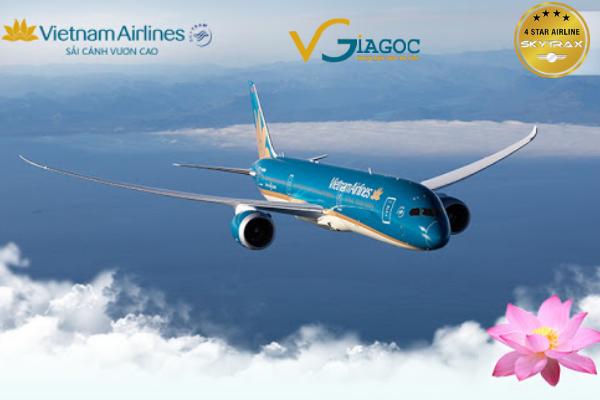 Vé máy bay khuyến mãi tháng 9 Vietnam Airlines