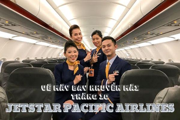 Vé máy bay khuyến mãi tháng 10 Jetstar Pacific Airlines