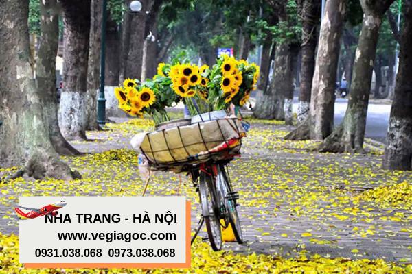 Vé máy bay Nha Trang đi Hà Nội