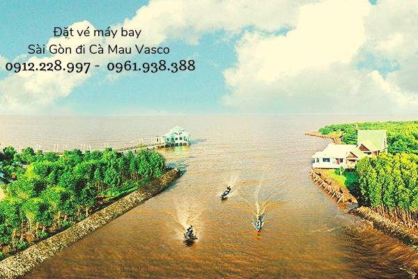 Vé máy bay Sài Gòn đi Cà Mau Vasco