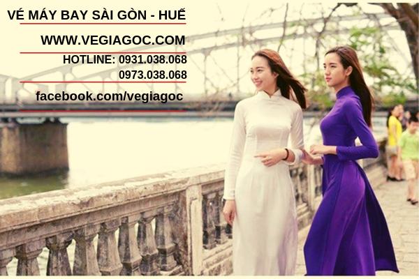 Vé máy bay Sài Gòn đi Huế