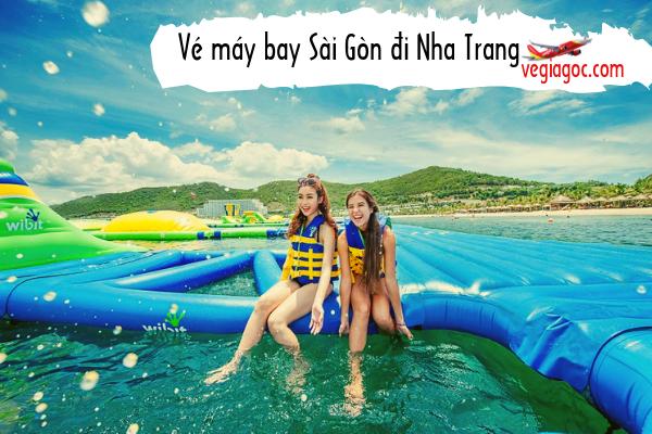 Vé máy bay Sài Gòn đi Nha Trang