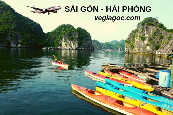 Vé máy bay Sài Gòn đi Hải Phòng