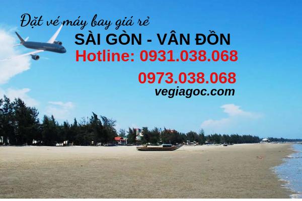 Vé máy bay Sài Gòn Vân Đồn Quảng Ninh