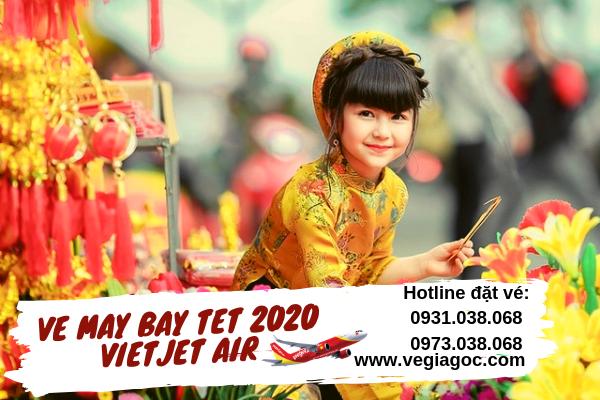 Vé máy bay Tết 2020 Vietjet Air giá rẻ
