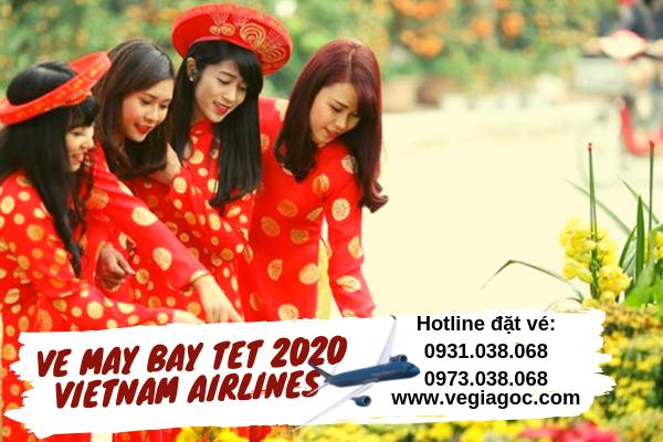 Vé máy bay Tết 2020 Vietnam Airlines giá rẻ