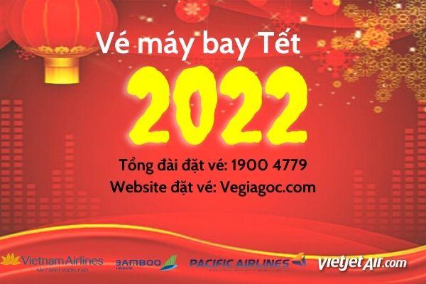 Vé máy bay Tết 2022