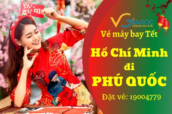 Vé máy bay Tết Hồ Chí Minh đi Phú Quốc