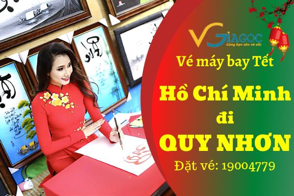 Vé máy bay Tết Hồ Chí Minh đi Quy Nhơn