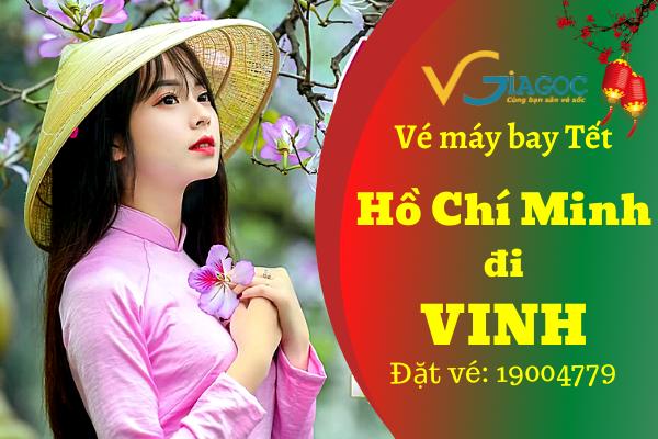 Vé máy bay Tết Hồ Chí Minh đi Vinh