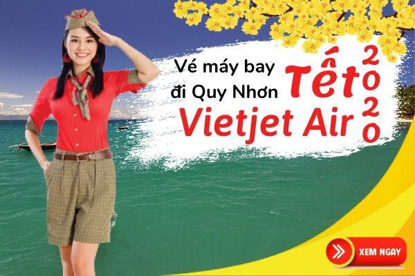 Vé máy bay Tết đi Quy Nhơn 2020 Vietjet