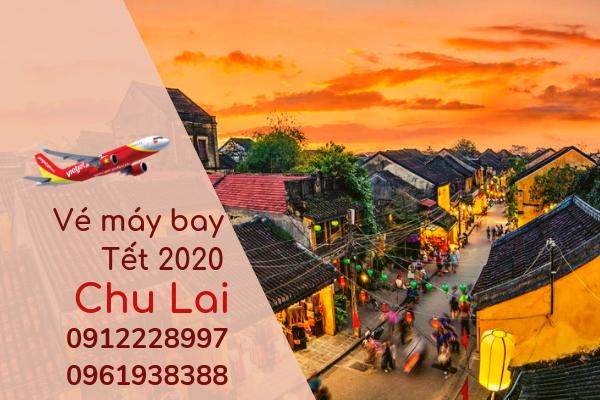 Vé máy bay Tết đi Chu Lai 2020 giá rẻ