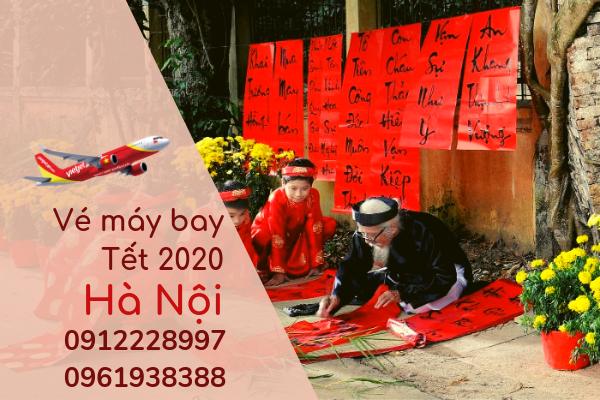 Vé máy bay Tết đi Hà Nội 2020 giá rẻ