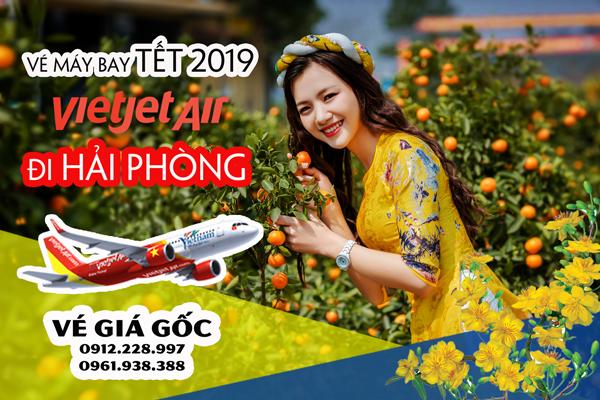 Vé máy bay Tết đi Hải Phòng 2019 Vietjet Jetstar Vietnam Airline