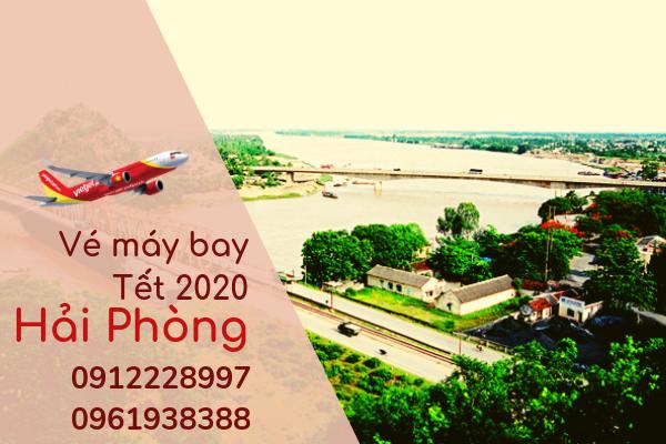 Vé máy bay Tết đi Hải Phòng 2020 giá rẻ