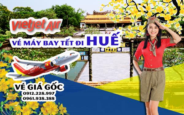 Vé máy bay Tết đi Huế 2019 Vietjet Air