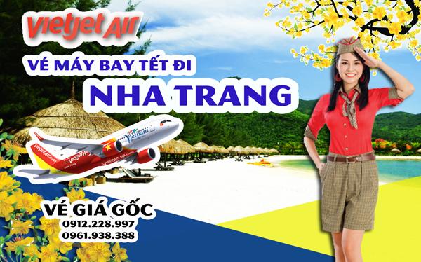 Vé máy bay Tết đi Nha Trang 2019 Vietjet Jetstar Vietnam Airline
