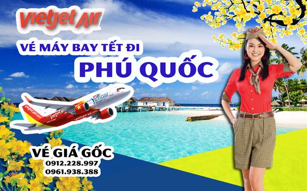 Vé máy bay Tết đi Phú Quốc 2019 Vietjet