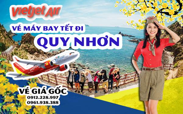 Vé máy bay Tết đi Quy Nhơn 2019 Vietjet Air