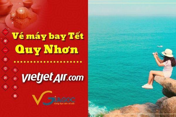 Vé máy bay Tết đi Quy Nhơn Vietjet