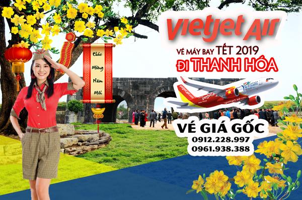 Vé máy bay Tết đi Thanh Hóa 2019 Vietjet Air