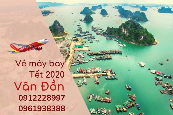 Vé máy bay Tết đi Vân Đồn 2020 giá rẻ