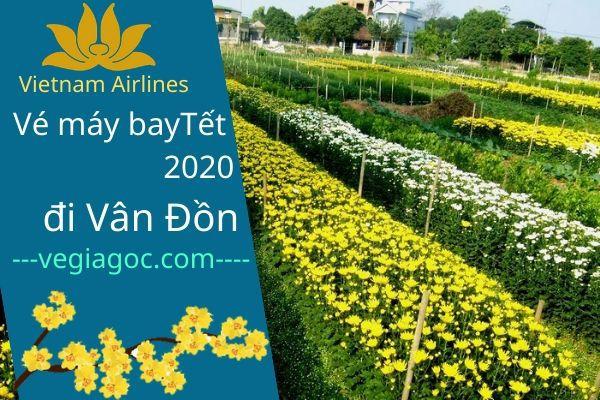 Vé máy bay Tết đi Vân Đồn 2020 Vietnam Airlines