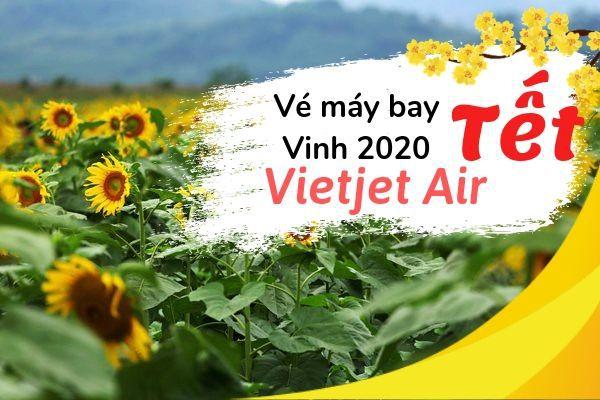 Vé máy bay Tết đi Vinh 2020 Vietjet