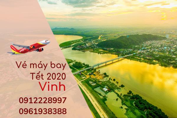 Vé máy bay Tết đi Vinh 2020 giá rẻ