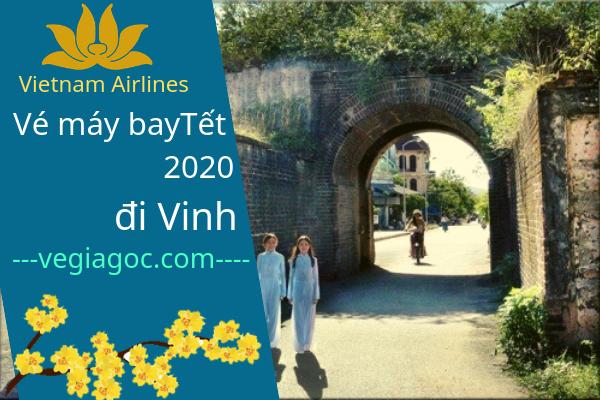 Vé máy bay Tết đi Vinh 2020 Vietnam Airlines