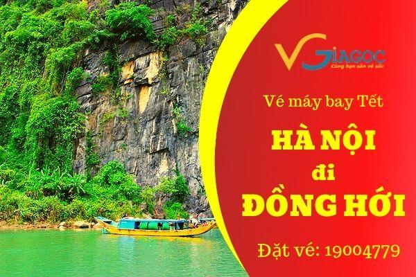 Vé máy bay Tết Hà Nội đi Đồng Hới