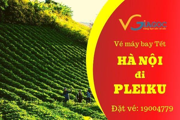 Vé máy bay Tết Hà Nội đi Pleiku