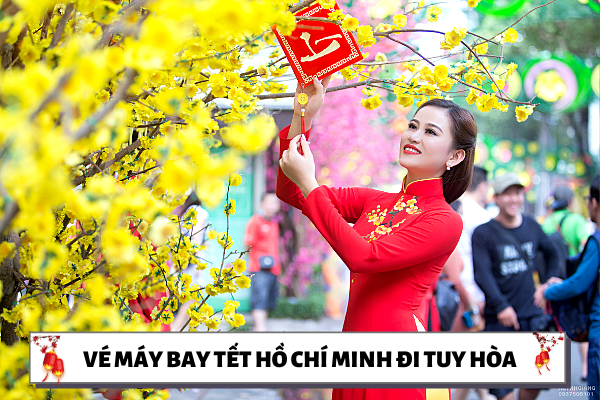 Vé máy bay Tết Hồ Chí Minh đi Tuy Hòa