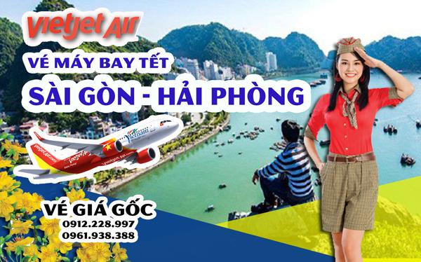 Vé máy bay Tết Sài Gòn Hải Phòng Vietjet