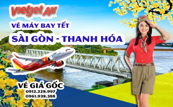 Vé máy bay Tết Sài Gòn Thanh Hóa Vietjet