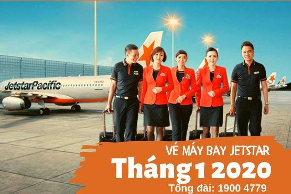 Vé máy bay tháng 1 2020 Vietjet