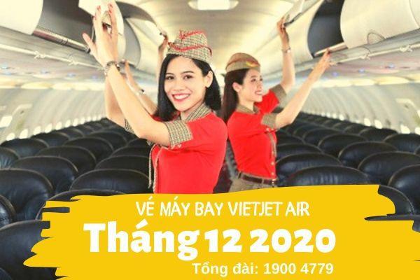 Vé máy bay tháng 12 2020 Vietjet