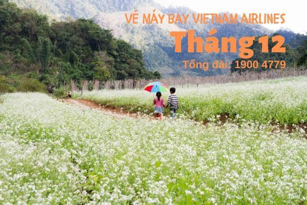 Vé máy bay tháng 12 Vietnam Airlines