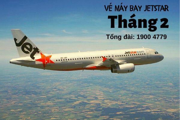 Vé máy bay tháng 2 Jetstar