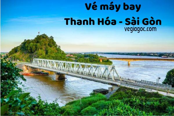 Vé máy bay Thanh Hóa đi Sài Gòn giá rẻ