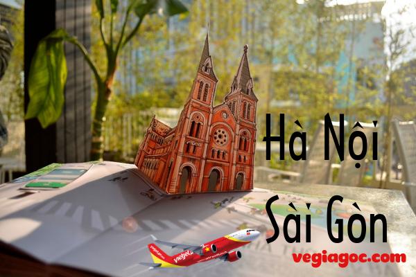 Vé máy bay Vietjet Hà Nội đi Sài Gòn
