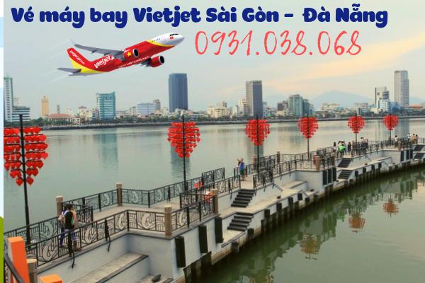 Vé máy bay Vietjet Sài Gòn đi Đà Nẵng