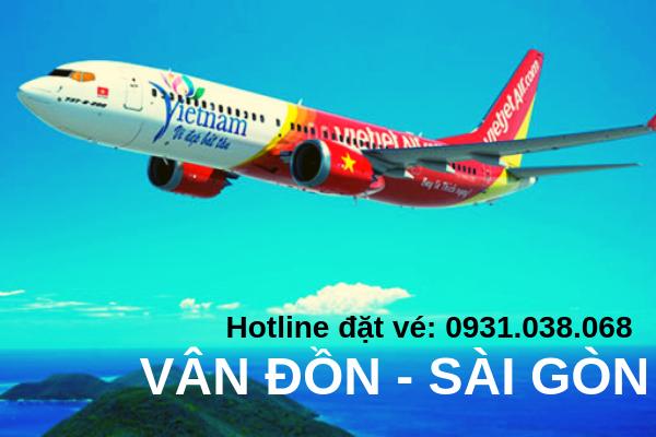 Vé máy bay Vietjet Vân Đồn đi Sài Gòn