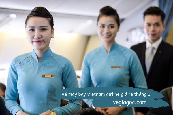 Vé máy bay Vietnam Airline giá rẻ tháng 1
