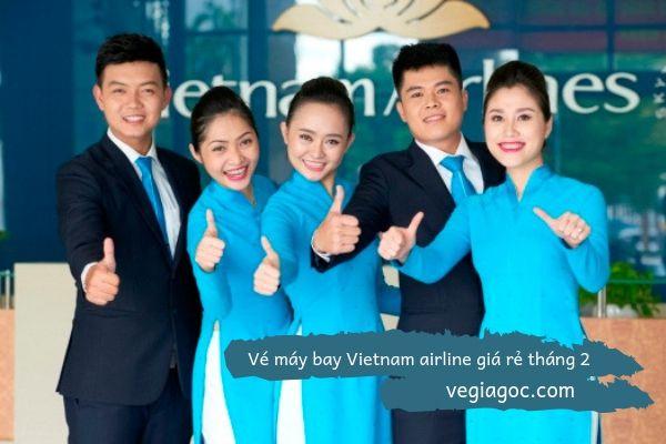 Vé máy bay Vietnam Airline giá rẻ tháng 2
