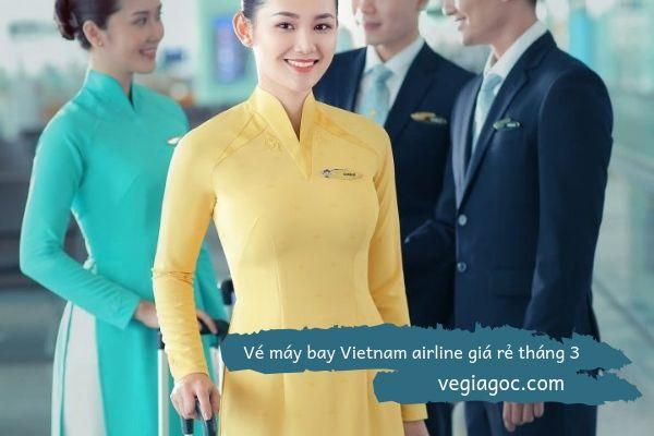 Vé máy bay Vietnam Airline giá rẻ tháng 3