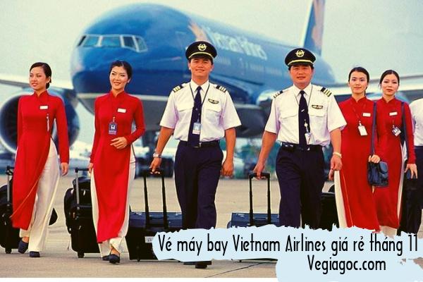 Vé máy bay Vietnam Airlines giá rẻ tháng 11