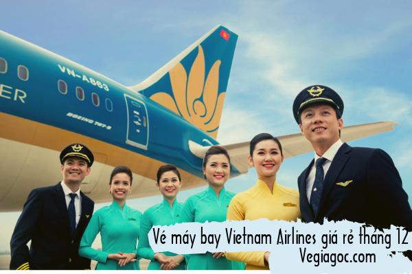 Vé máy bay Vietnam Airlines giá rẻ tháng 12