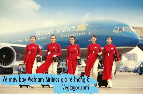Vé máy bay Vietnam Airlines giá rẻ tháng 8
